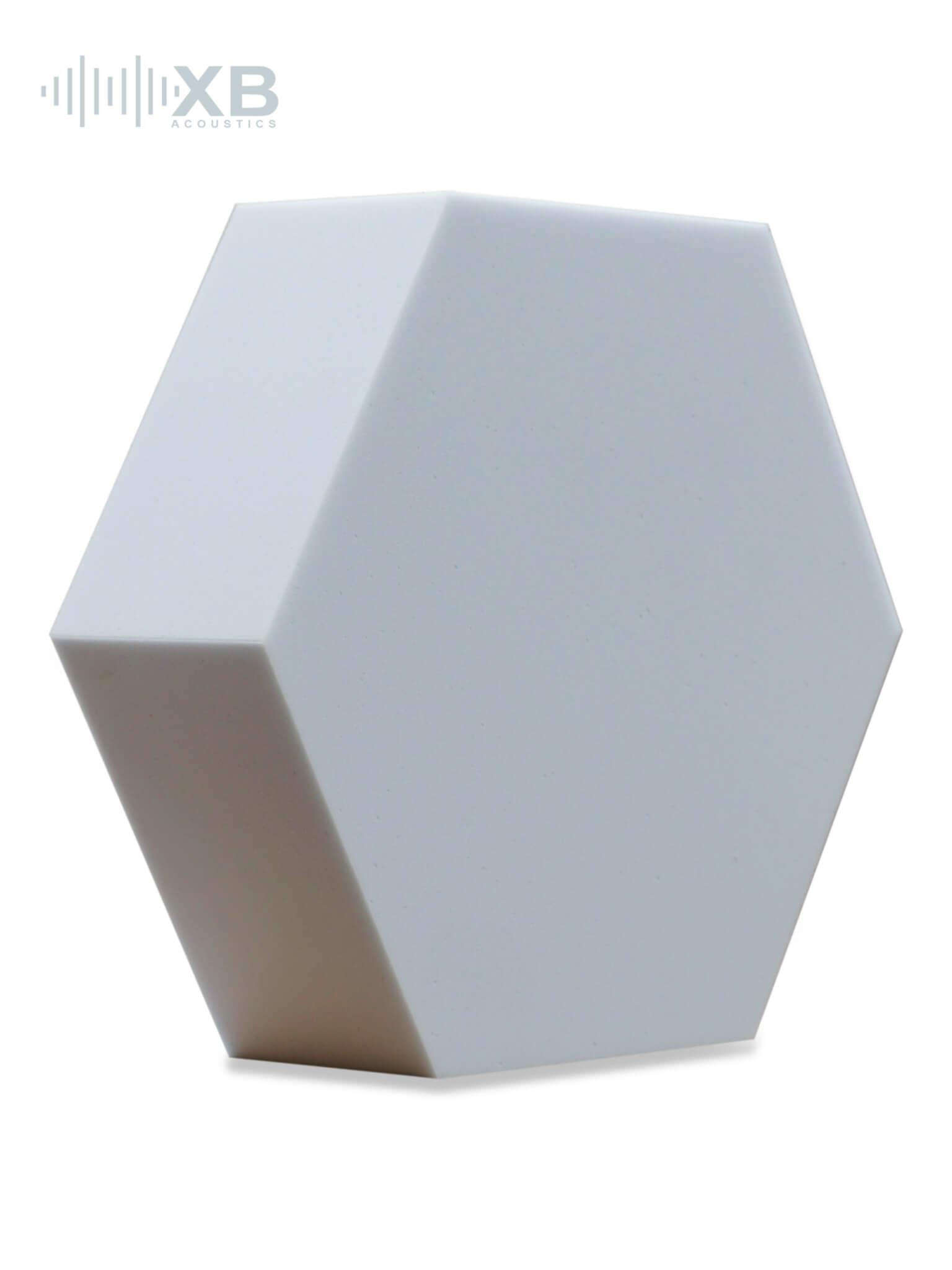 basotect hexogonal hellgrau schall