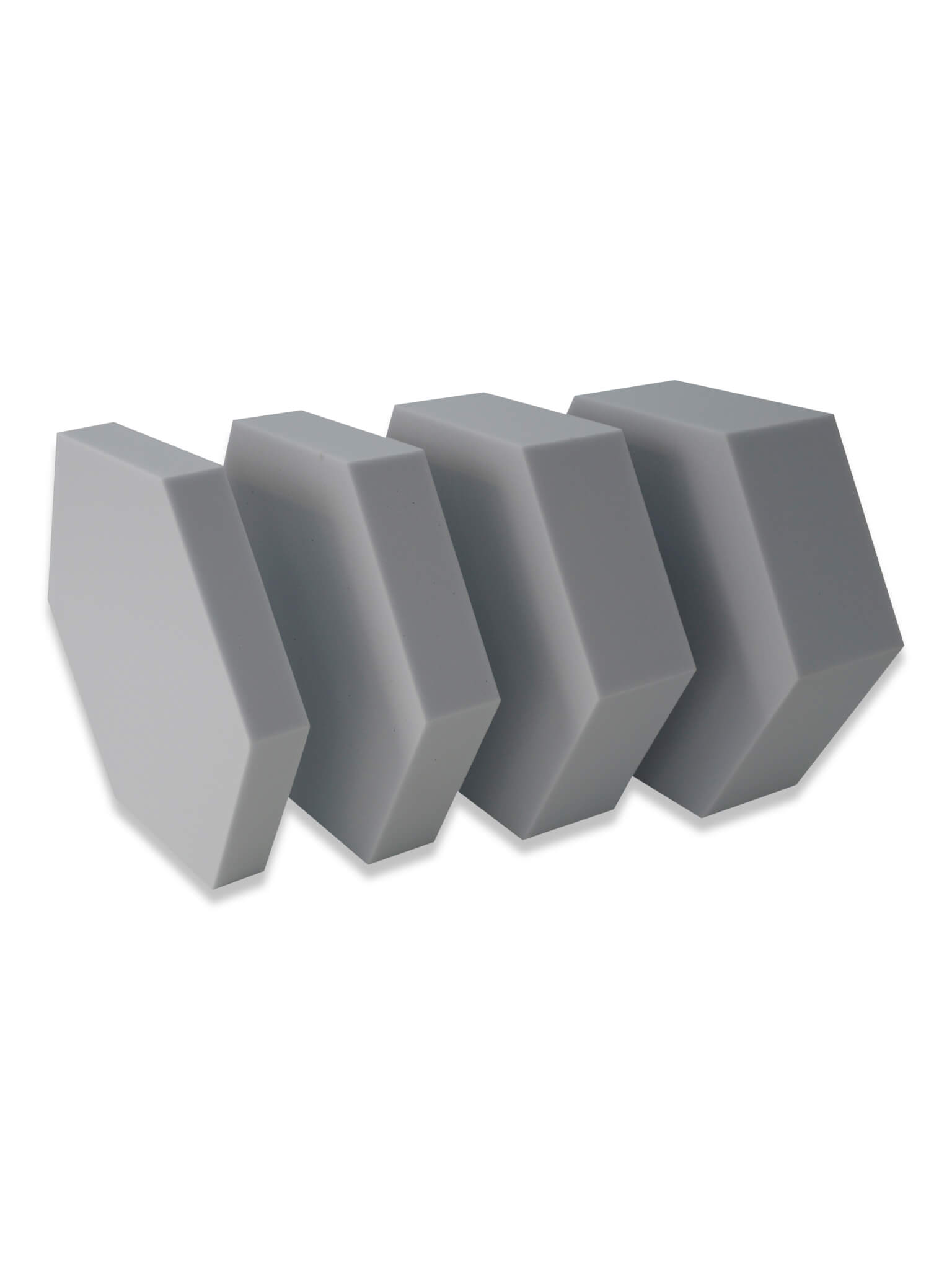 basotect hexogonal schallabsorber