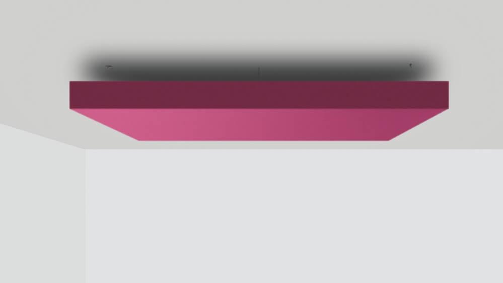 Deckensegel schallabsorber nach maß