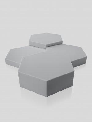 hexogonal akustik